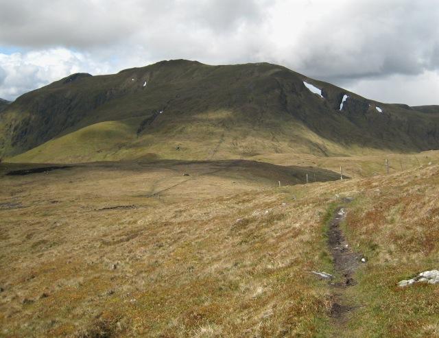 Western ridge - Meall Greigh