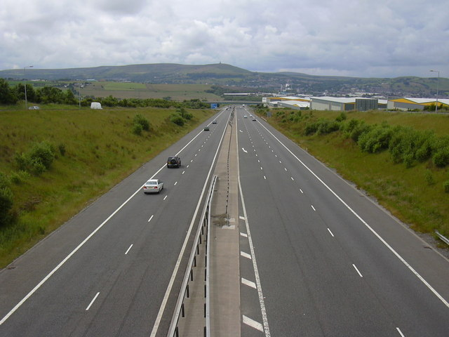 Guide Junction 5 M65 Looking Towards Preston