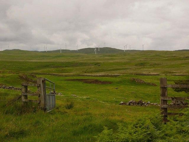 View from near Kilhern Loch