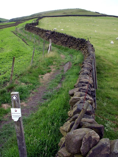 Boundary Wall and path to Lightside.