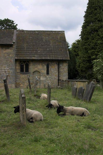 Part of the church at Ellerburn