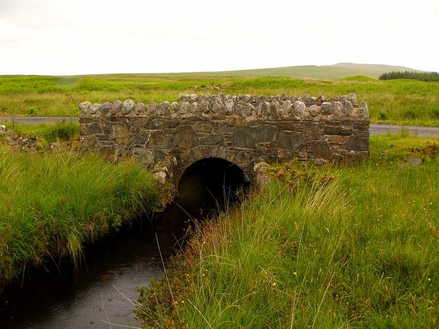 Moorland bridge.