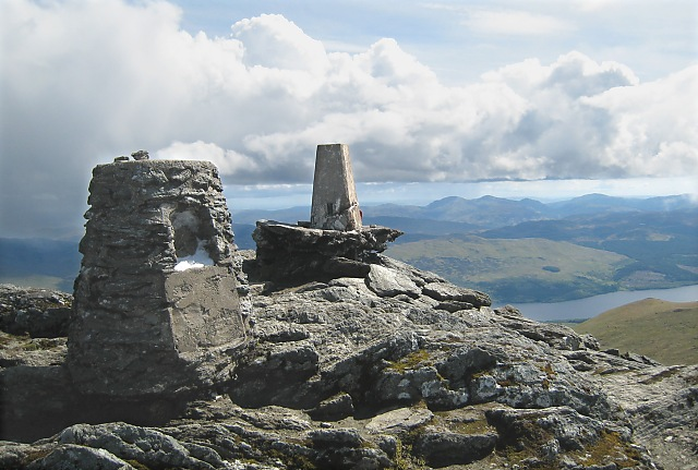 Ben Lawers - summit cairn