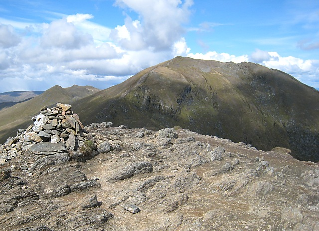 Beinn Ghlas - summit cairn