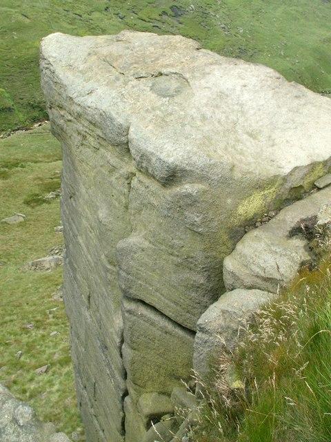 A Rock Buttress at Dog Rock