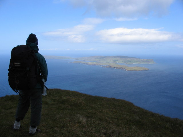 View of Canna from Bloodstone Hill