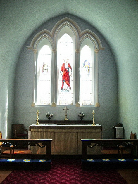 Altar, St James' Church, Ireby