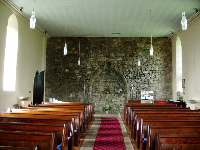 Interior of  St James' Church, Ireby