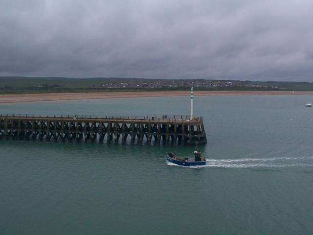 Newhaven pier and lighthouse