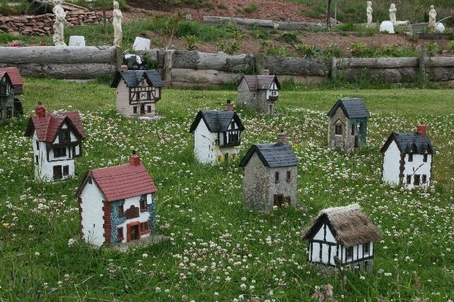 Mini Village at Feochaig.