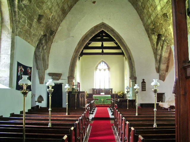 Interior of The Parish Church of All Saints, Boltongate