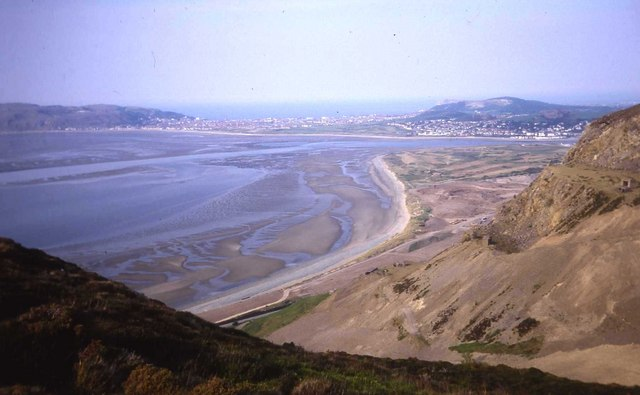Conwy Bay as viewed from Penmaen-bach