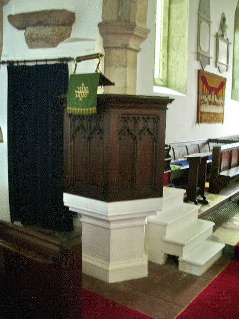 Pulpit, The Parish Church of All Saints, Boltongate