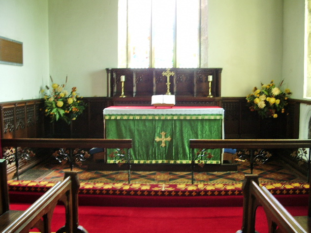 Altar, The Parish Church of All Saints, Boltongate