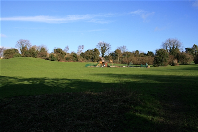 Recreation ground near Danby Woods