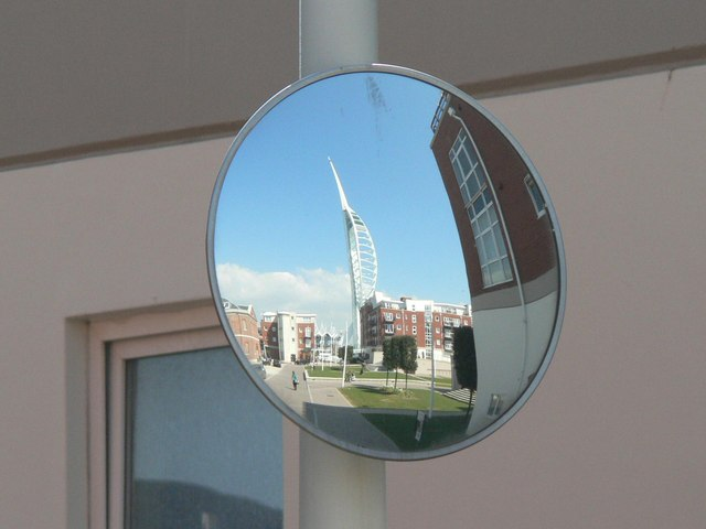 Reflection of Spinnaker Tower