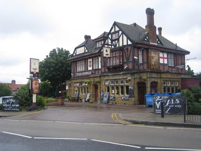 Kingsbury: The George Public House, Church Lane, NW9