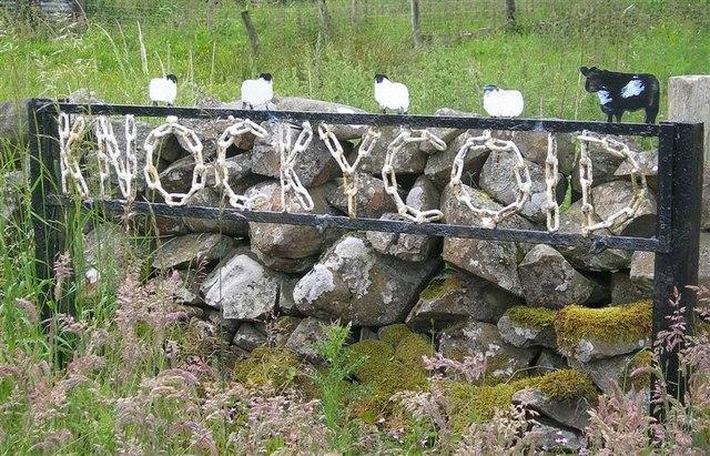 Knockycoid Farm sign