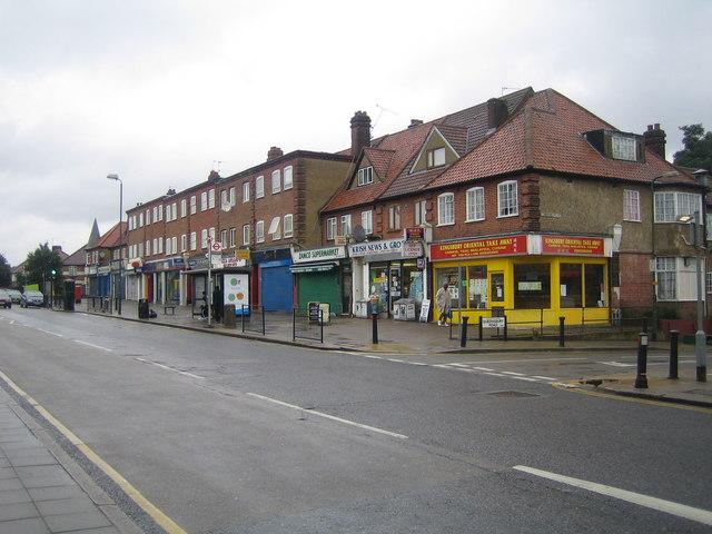 Kingsbury: Church Lane, NW9