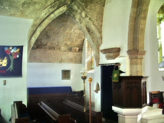 Interior of The Parish Church of All Saints, Boltongate