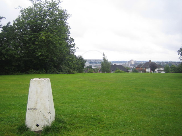 Barn Hill Triangulation Pillar