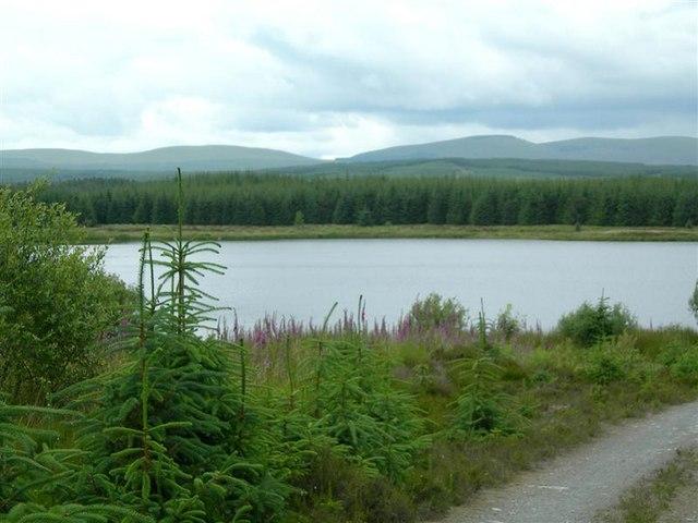 Approaching Loch Goosey