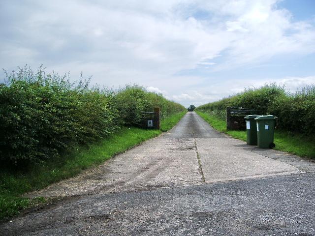 Road to Ghyll Head Farm