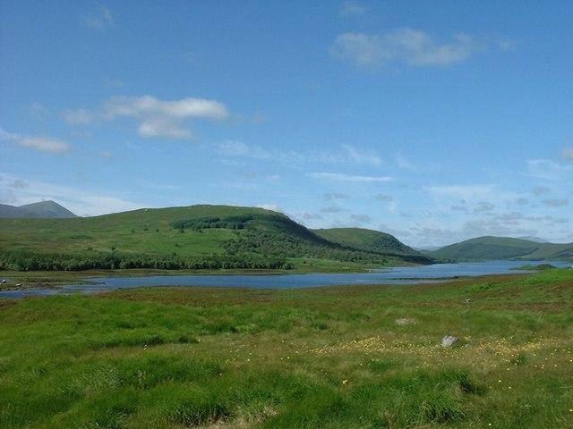 Head of Loch Naver