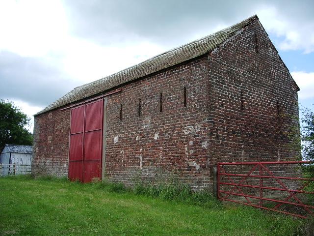 Roadside barn at Dockray