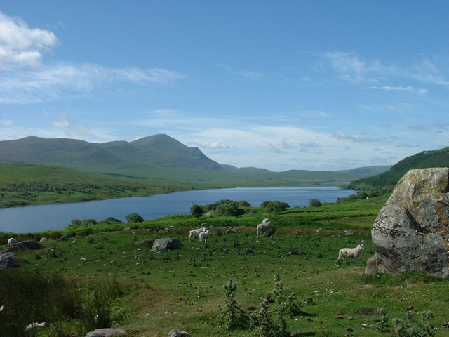 Loch Naver from the cairn near Grumbeg
