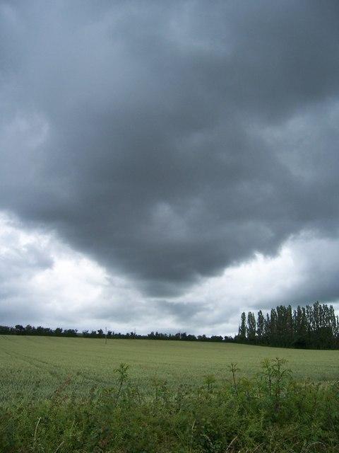 Storm Clouds over Westport