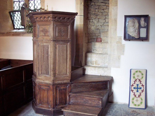 Church of St Michael - Pulpit