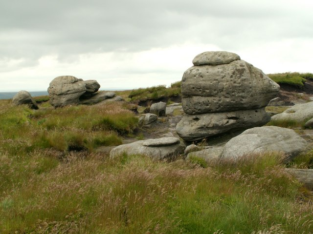 The Wain Stones a different view