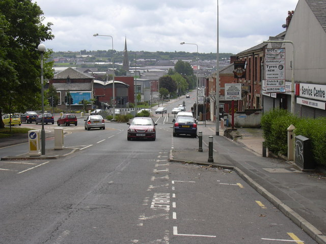 Montague Street Towards King Street
