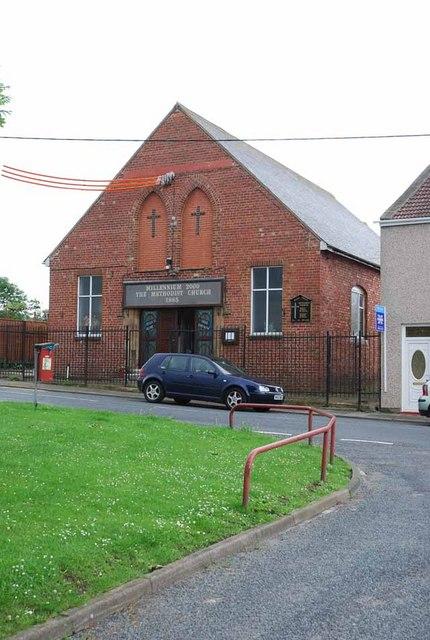 Methodist Church, Byers Green