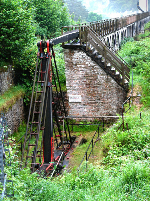 Pump mechanism  operated by the Laxey Wheel
