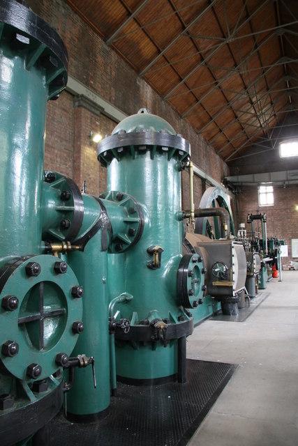 Brindley Bank steam pumping engine