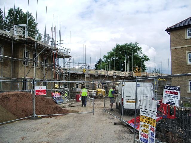 New development on Kiddrow Lane