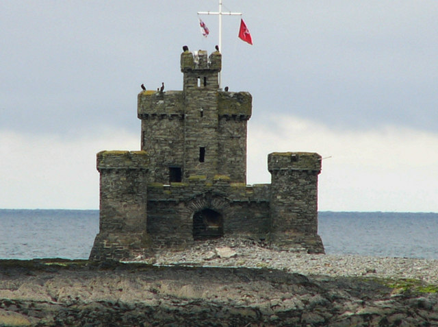 Tower of Refuge on Conister or St Mary's Rock