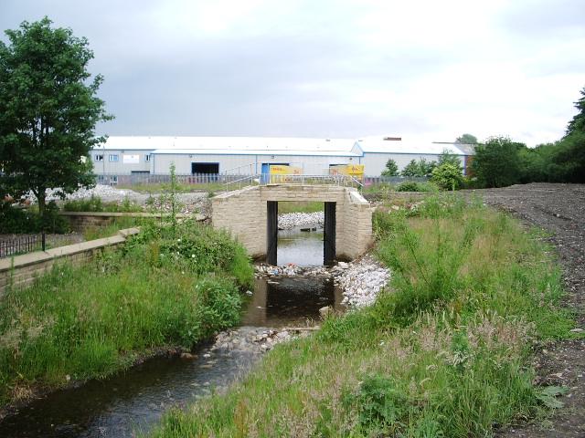 New bridge over Buckley Brook