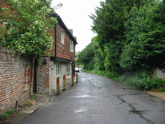View along The Street, Patrixbourne