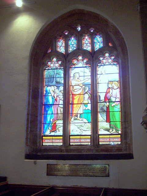 Church of the Blessed Virgin Mary - Stained Glass Window