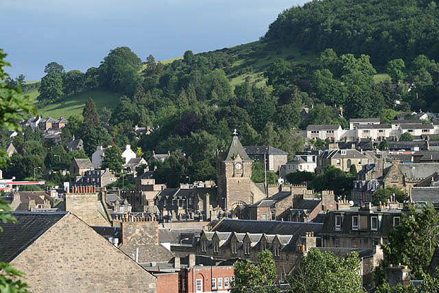Galashiels roofscape