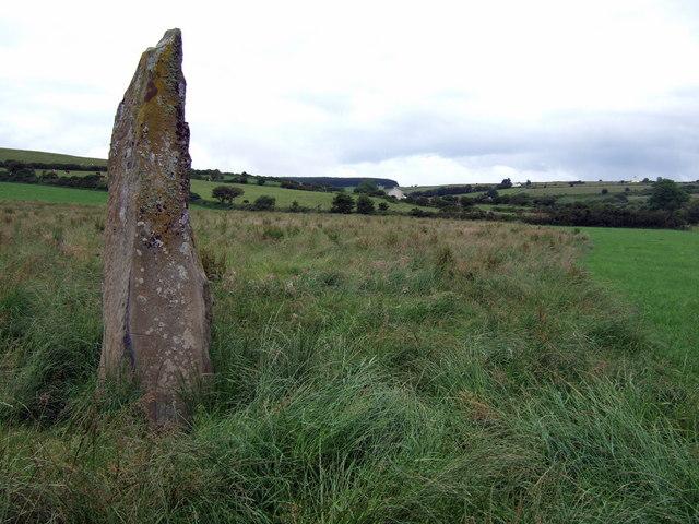 Budloy standing stone