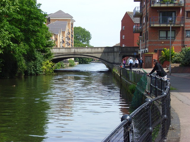 River Kennet, Reading