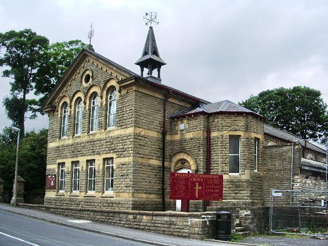 Hallfold United Reformed Church, Whitworth