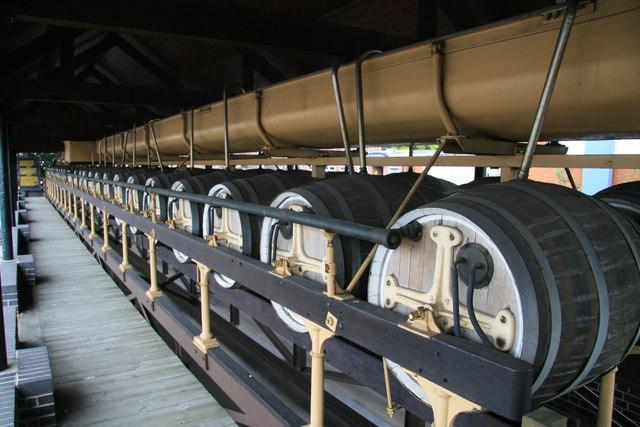 Burton Union fermentation system, former Coors Visitor Centre