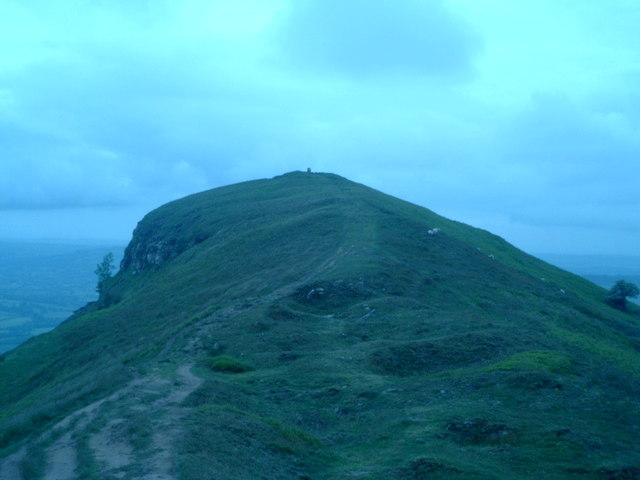 The climb to Ysgyryd Fawr