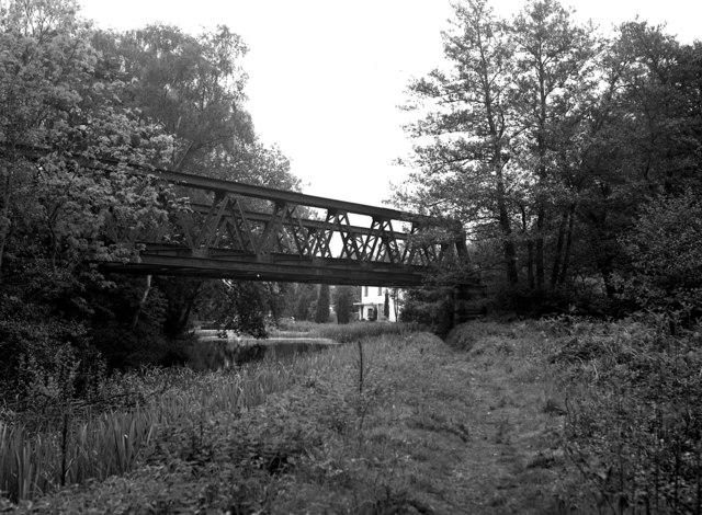 Bisley Tramway bridge, Basingstoke Canal