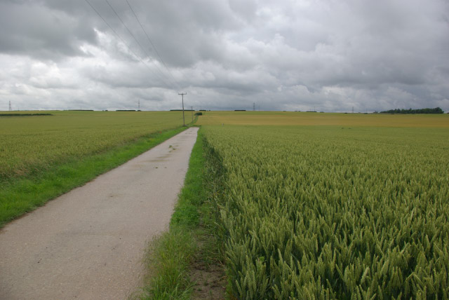 Farmland southeast of Swaffham Bulbeck